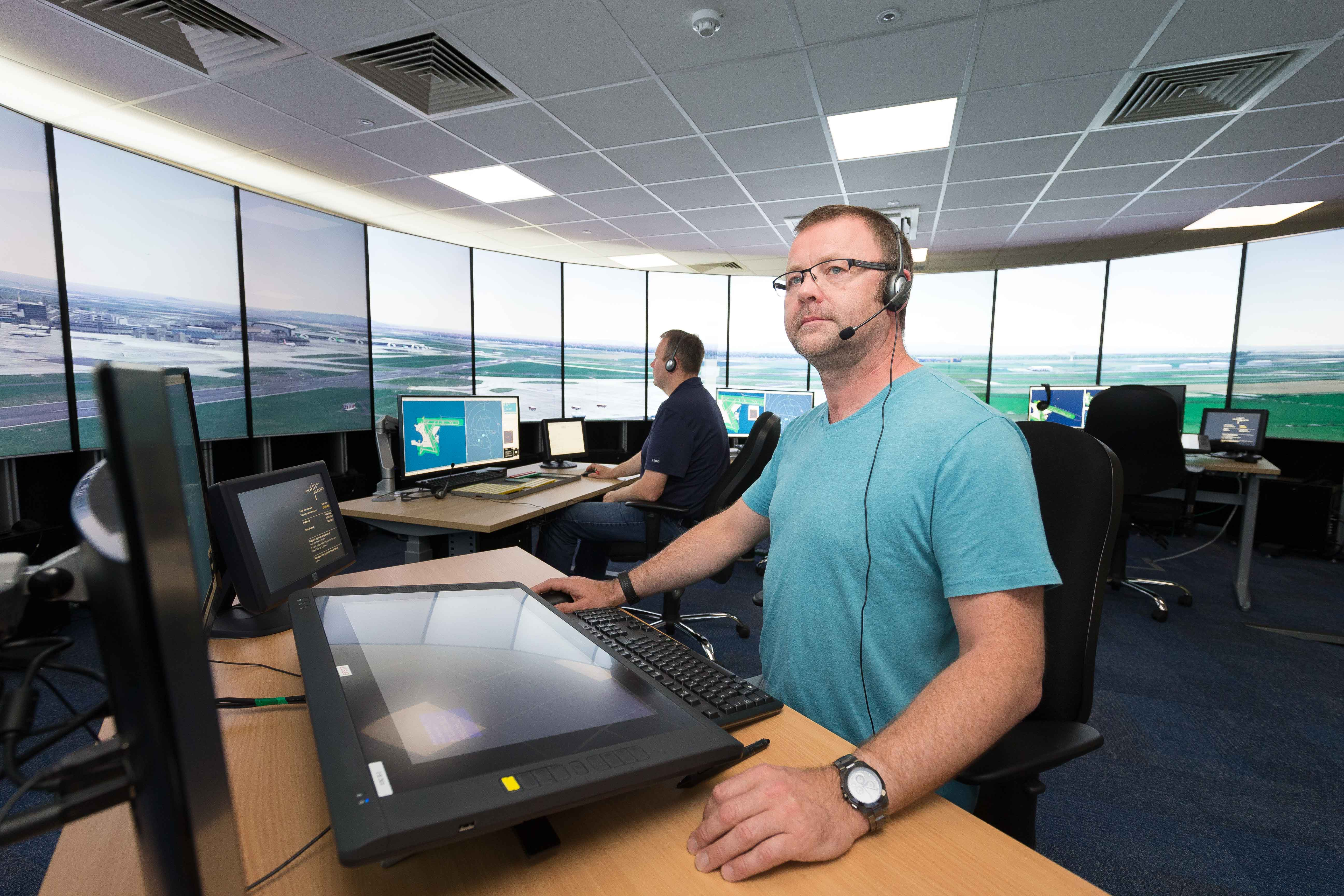 EPN Entry Point North BEST 3D Tower 360 degree simulator at Dublin Airport