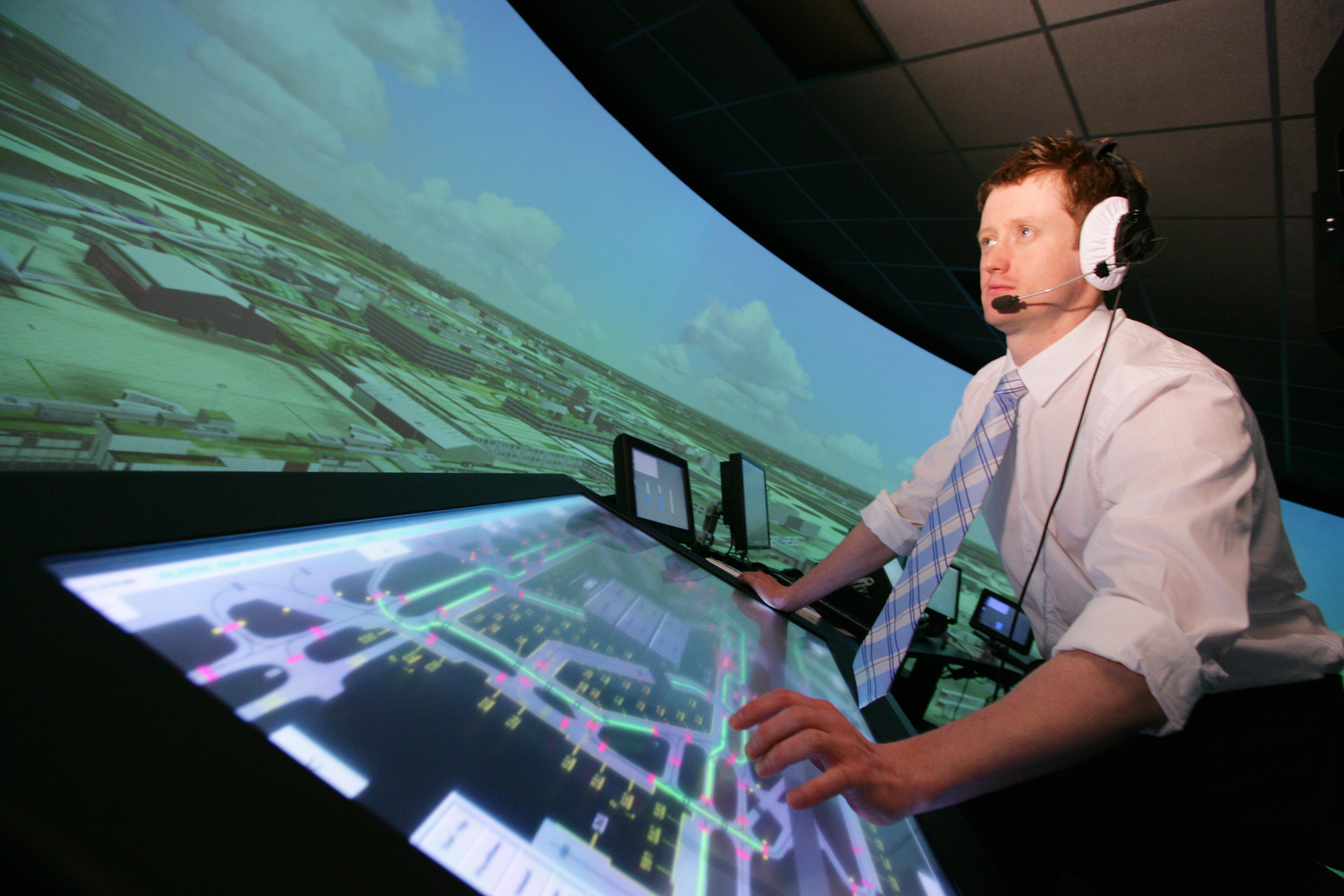 London Heathrow BEST 3D Tower 360 degree simulator