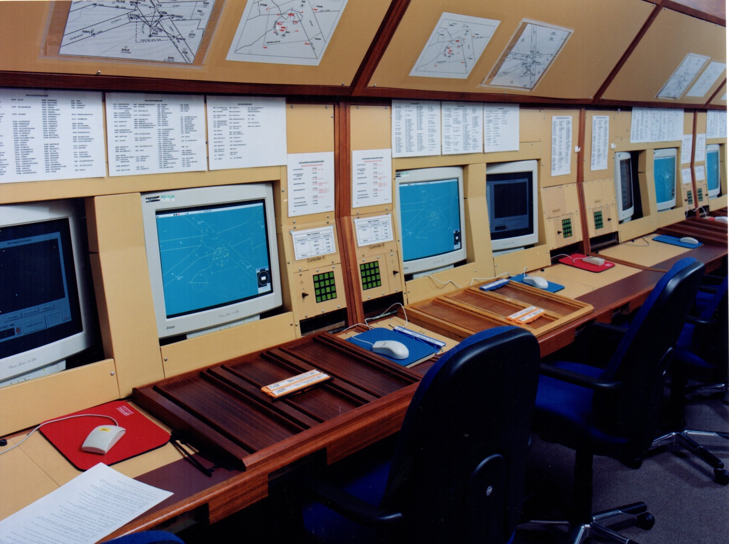 BEST Radar ATC Simulator at NATS Hurn CATC