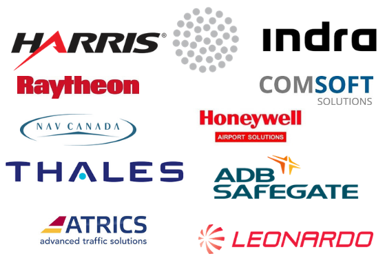 BEST Link working with manufacturers of operational systems such as Harris Orthogon, Indra, Raytheon, Comsoft, Nav Canada, Honeywell, Thales, ADB Safegate, ATRICS and Leonardo.