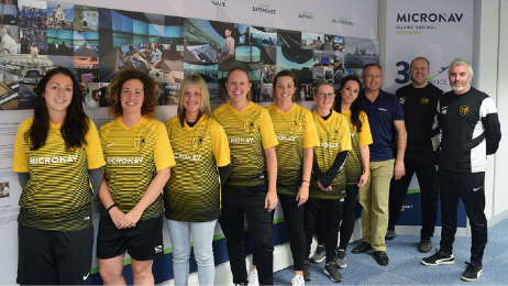 Bournemouth Ladies' Football Team visit