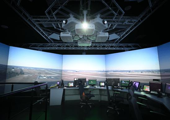 PANSA Polish Air Navigation Services Agency 3D Tower