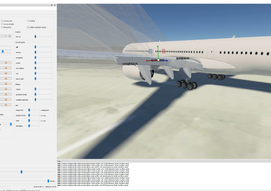 Aircraft Flaps Realistic Physics