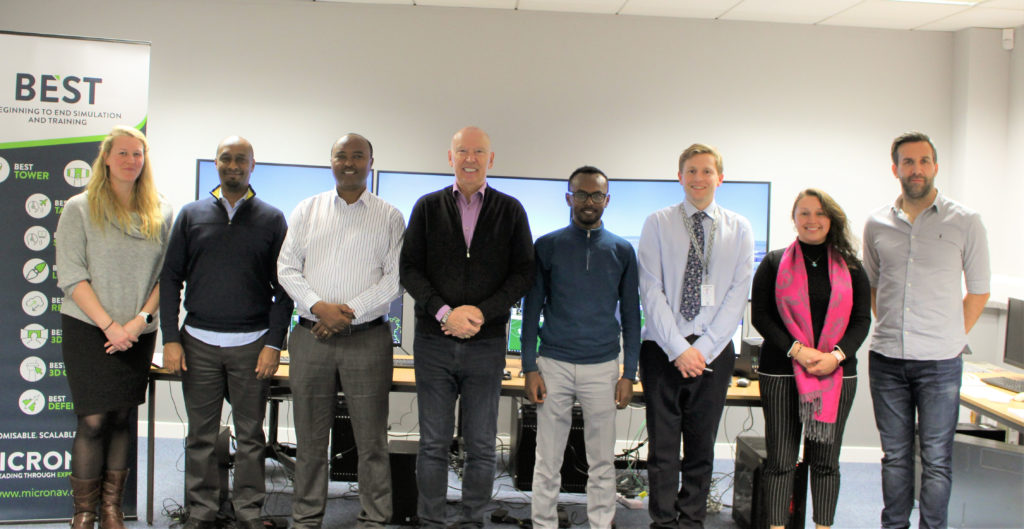 Ethiopian Airlines Group, ICAO, GECI and Micro Nav at the end of the successful Factory Acceptance Test.